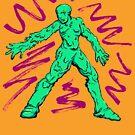 slime man by cicadahaus