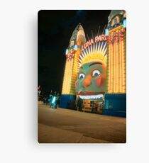 Just For Fun - Luna Park - Moods Of A City - The HDR Series Sydney Australia Canvas Print