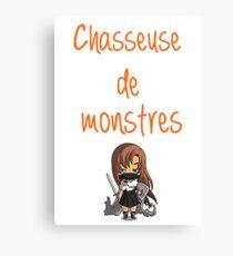 Chasseuse Chibi Canvas Print
