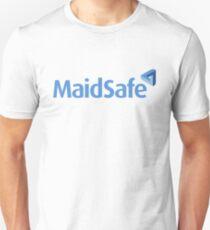 MaidSafe Logo (MaidSafeCoin) with Text T-Shirt
