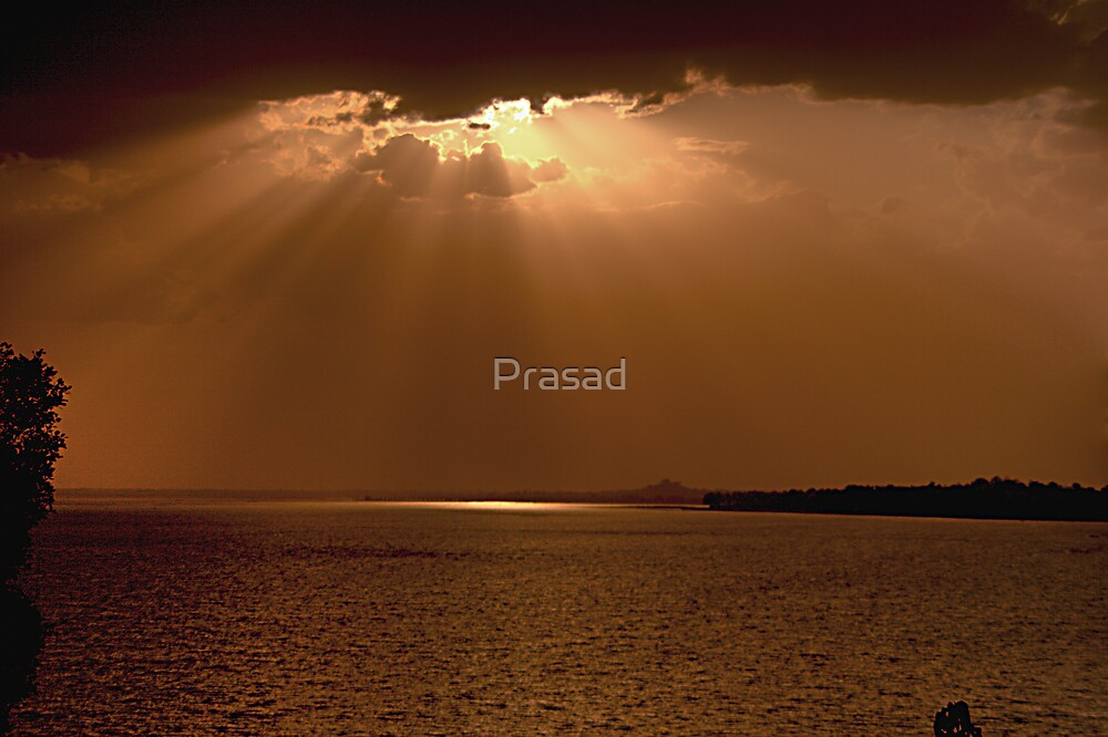 When silence breaks out #2 by Prasad