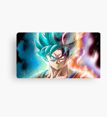 Limit Breaker Goku  Canvas Print