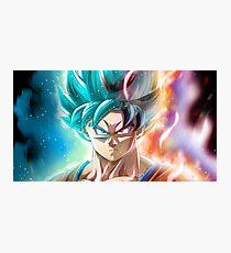 Limit Breaker Goku  Photographic Print
