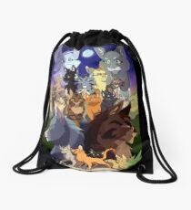 Warriors Generations Drawstring Bag