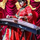 China. Xian. Portrait of a Musician. by vadim19