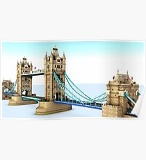 Tower Bridge. London Poster