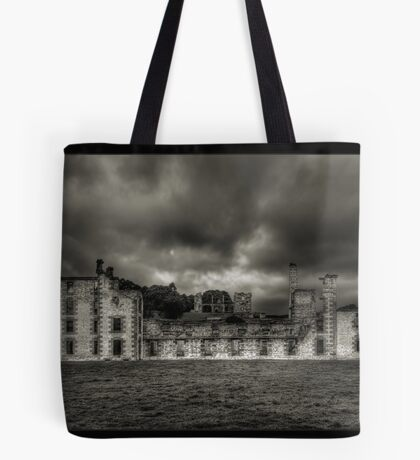 Prison Walls of Days Long Gone Tote Bag