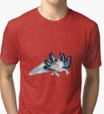Cosmic Axolotl  Tri-blend T-Shirt