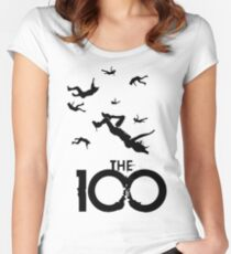 The 100 Women's Fitted Scoop T-Shirt