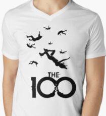 The 100 Men's V-Neck T-Shirt
