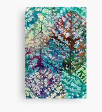 Colorful leaves II Canvas Print