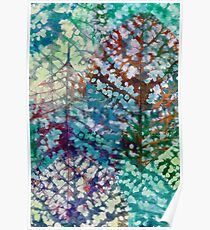 Colorful leaves II Poster
