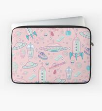 Galaxy Babe Muster Laptoptasche