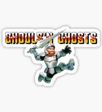 Ghouls n Ghosts, capcom Sticker