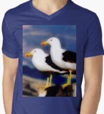 Black seagulls T-Shirt