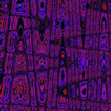 Psychadelic Wood Grain by justjason