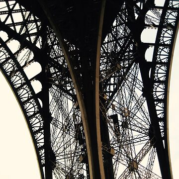 Eiffel Tower Detail by smaddockdesigns