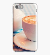 Morning cup of coffee iPhone Case/Skin