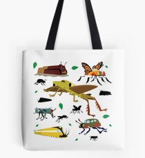 Insect Cars Tote Bag