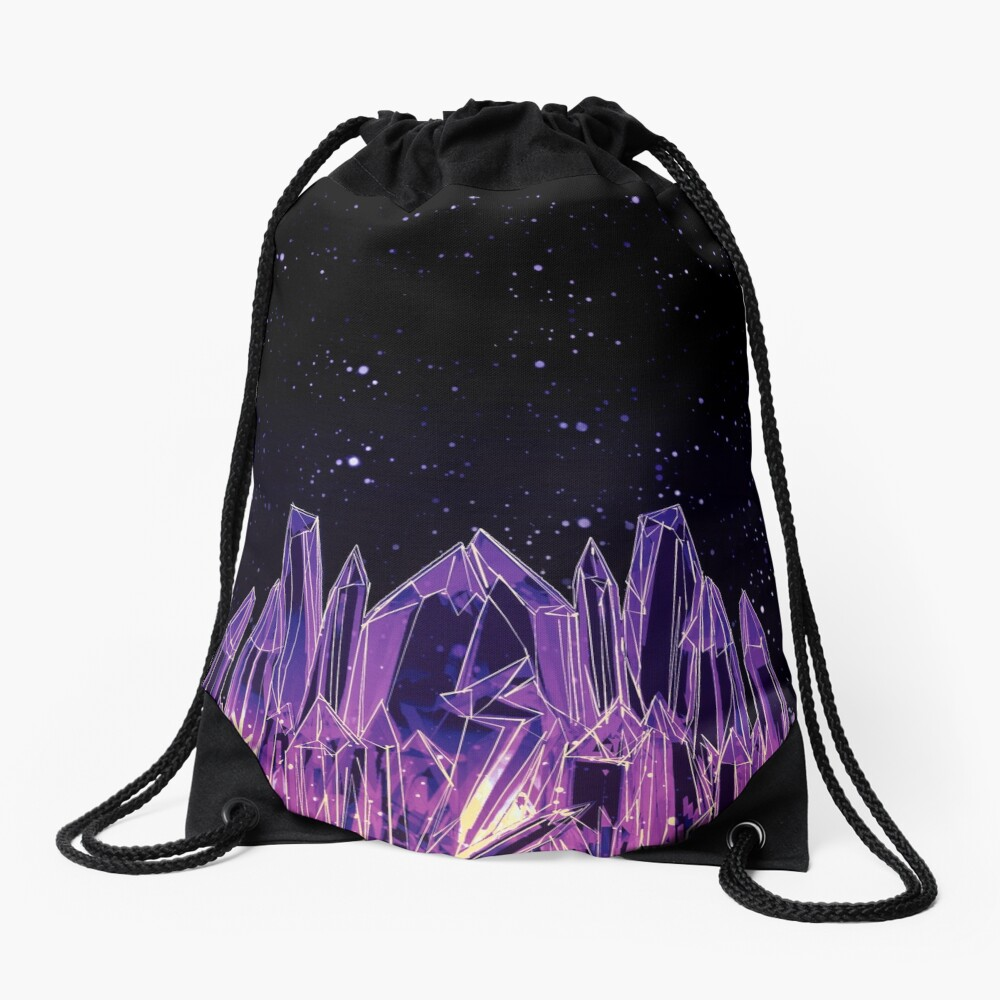 Dark Crystal Drawstring Bag