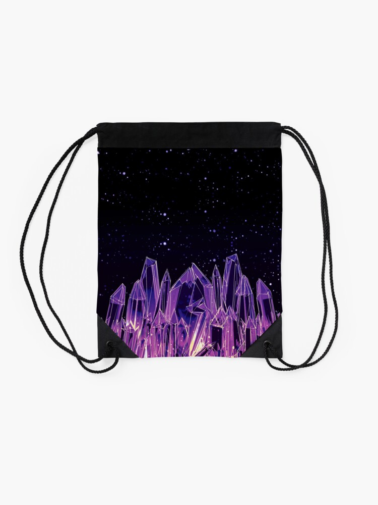 Alternate view of Dark Crystal Drawstring Bag