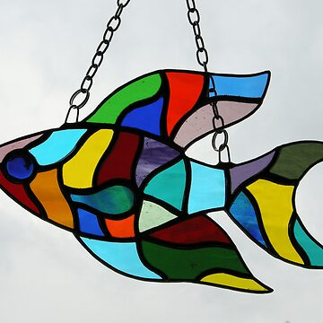 Stained Glass Fish (2) by neilsglass