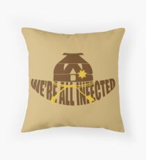TWD: We're All Infected Throw Pillow