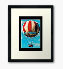 beautiful balloon Framed Print