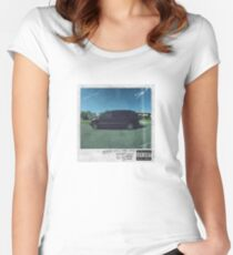 Kendrick Lamar - Good Kid, M.A.A.D City Women's Fitted Scoop T-Shirt