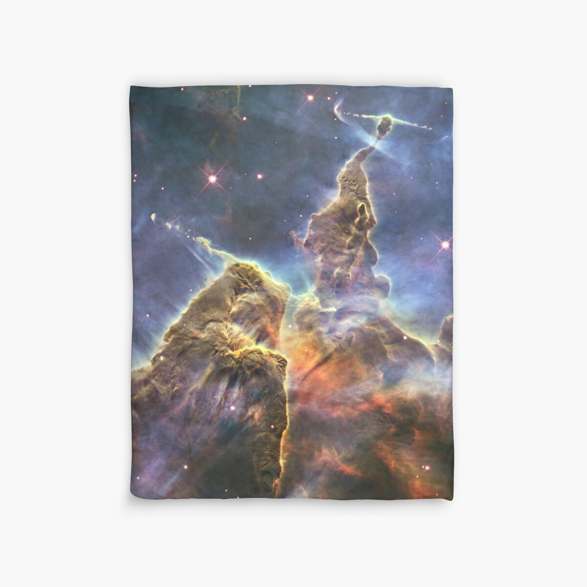 """Carina Nebula Mystic Mountain, Wallpaper"" Duvet Covers by ..."