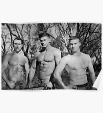 Elite Male Fitness Model - A026 Poster