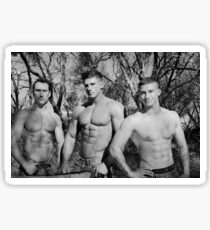 Elite Male Fitness Model - A026 Sticker