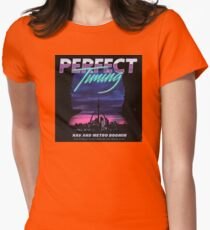 Perfect Timing - Nav x Metro Boomin Womens Fitted T-Shirt