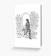 The Maiden In The Tower  Greeting Card
