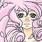 Rose Quartz Portrait by veethebunny