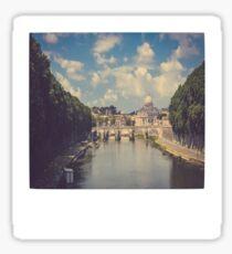 Rome Polaroid Sticker