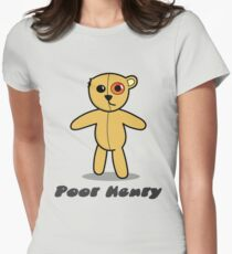 Poor Henry Womens Fitted T-Shirt
