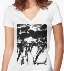 Molt Women's Fitted V-Neck T-Shirt