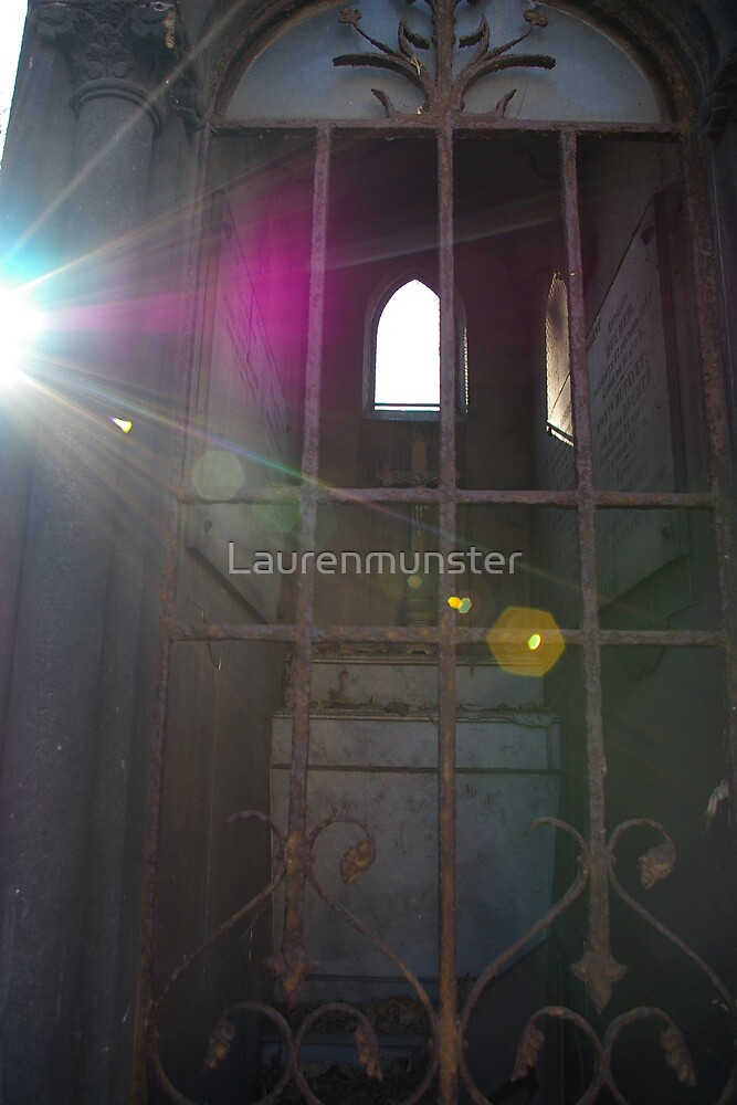 sunny day in the graveyard by Laurenmunster