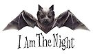 Cute Bat : I Am The Night by heARTcart