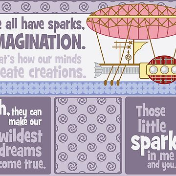 Sparks of Imagination by TEWdream