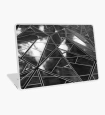 Black and White sky reflections Laptop Skin