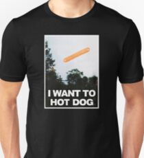 I Want to Hot Dog T-Shirt