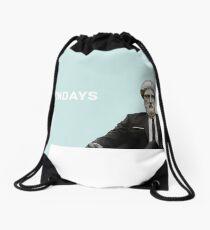 Mondays Drawstring Bag