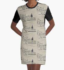 Kingdom By the Sea Graphic T-Shirt Dress