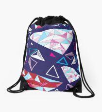 Mochila de cuerdas Patrones geométricos sin fisuras de triángulos