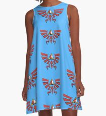 Deathly Poke Crest A-Line Dress