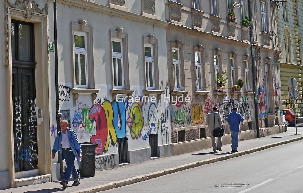 Graffiti Ljubljana Style by Graeme  Hyde
