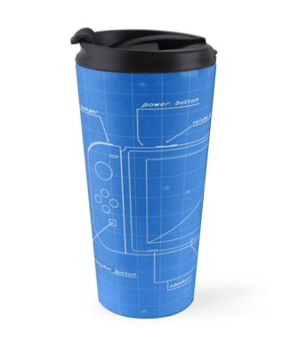 Nintendo switch blueprint travel mugs by rocksoft redbubble nintendo switch blueprint by rocksoft malvernweather Choice Image