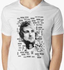 """Wow.""- Owen Wilson Men's V-Neck T-Shirt"
